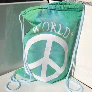 Handmade world peace bag